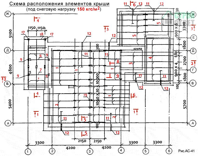 схема расположения шлюх - 8
